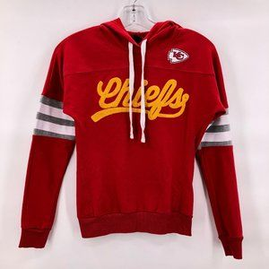 Like new NFL Juniors Chiefs Red Hoodie